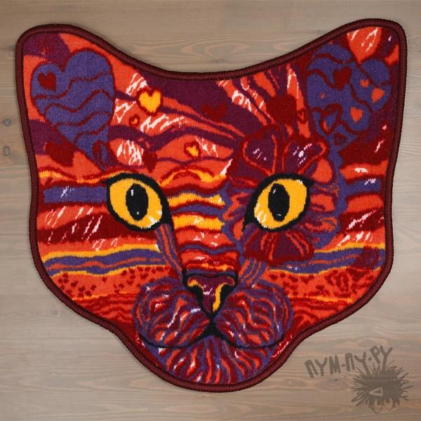 Интерьерный кото-коврик Кот Баюн