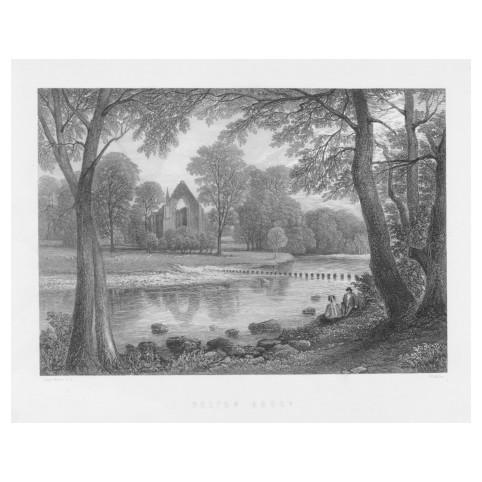 «Болтонское аббатство, Северный Йоркшир, Англия»