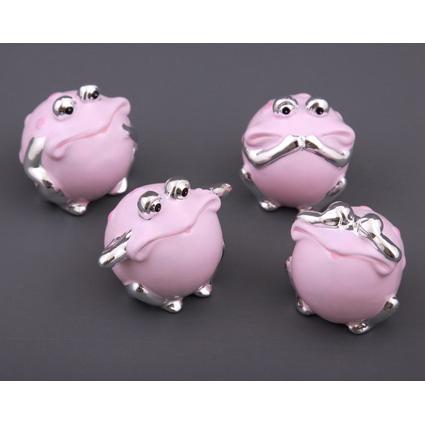 Комплект фигурок «Розовая лягушка»