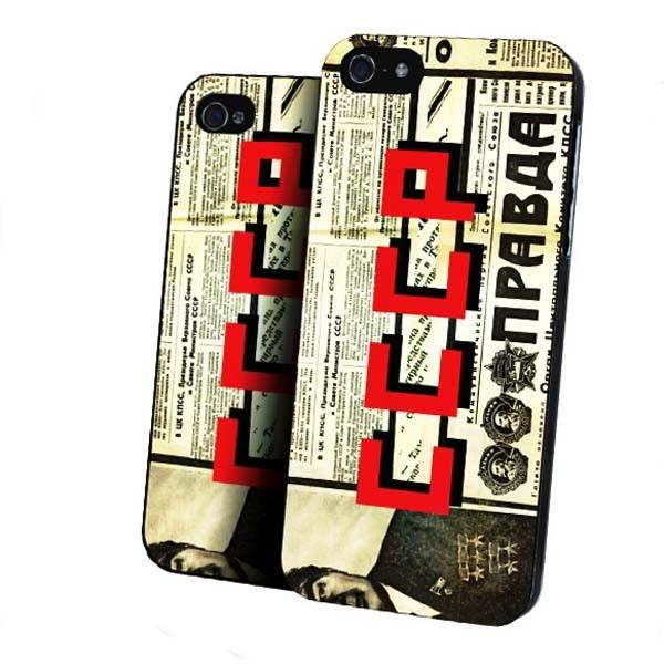 Чехол  для iPhone 5/5s СССР Правда