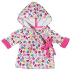 Одежда для куклы Baby born Халат с капюшоном