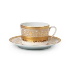 Фарфоровый набор чайных пар на 6 персон DIDON OR MIMOSA