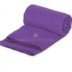 Фиолетовое полотенце для фитнеса Тонус