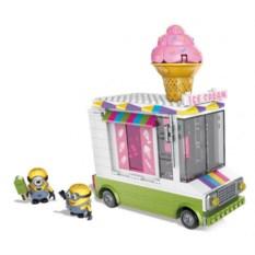 Конструктор Mega Bloks Миньоны: фургончик с мороженым