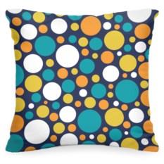 Декоративная подушка «Цветные точки»