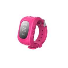 Умные детские часы с GPS Q50 Smart Baby Watch розового цвета