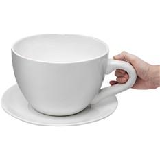 Чашка с блюдцем «Гигантская»
