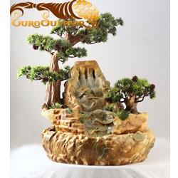 Фонтан настольный Каменный век, 46 см