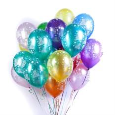 Букет из 100 шаров С Днем рождения