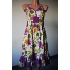 Платье Мультиколор с цветами