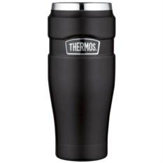 Черная термокружка Thermos King SK1005 от 0.47 л