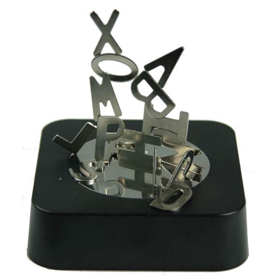 Магнитный конструктор-антистресс Алфавит 9*9*3см