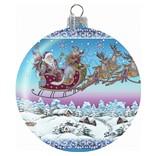Шар Дед Мороз на санях, G.DeBrekht