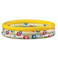 Детский бассейн Цветные колечки Intex