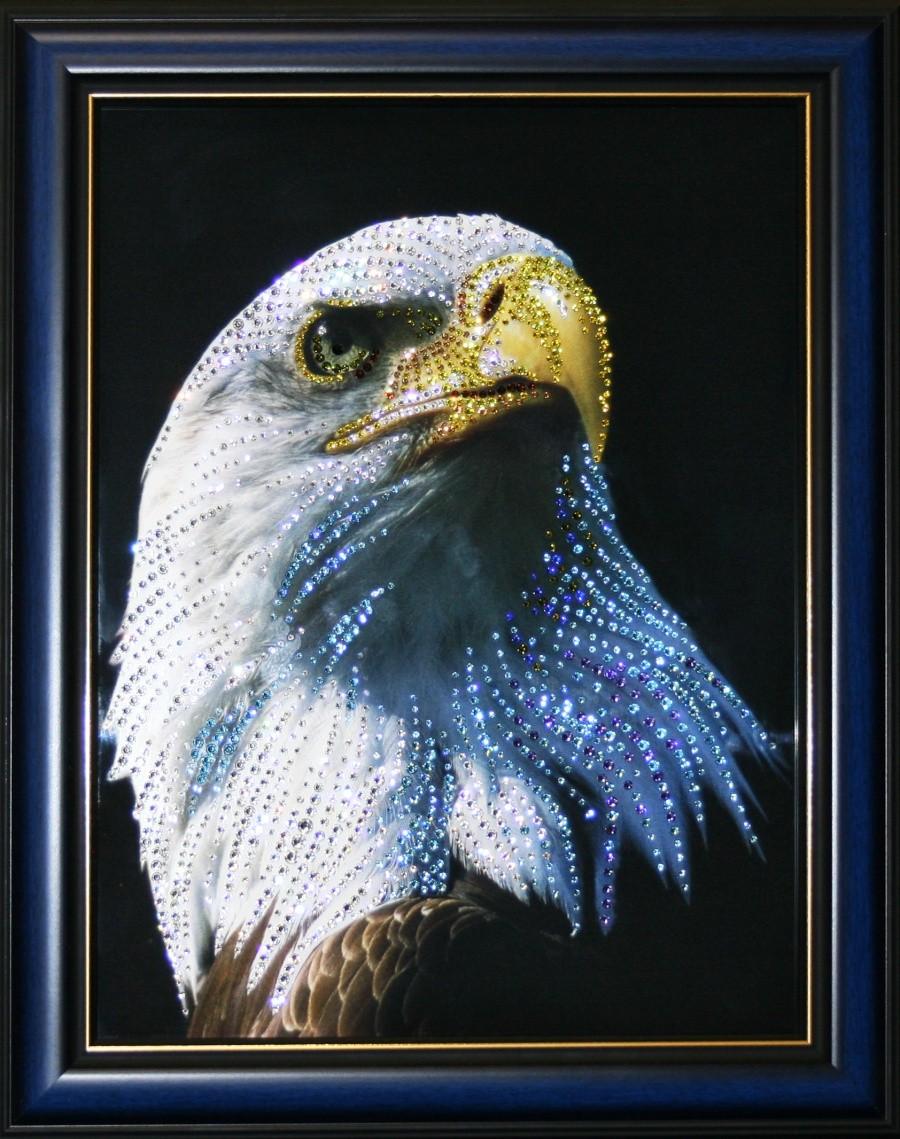 Картина с кристаллами Сваровски Гордость