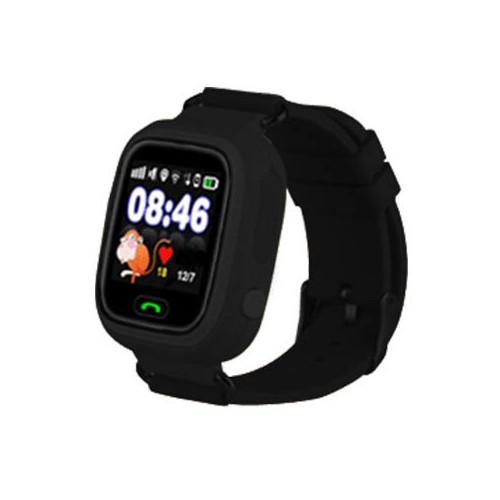 Черные детские часы Smart Baby Watch Q80