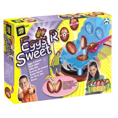 Набор для творчества Шоколадные яйца с сюрпризом