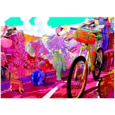 Пазл Heye 1000 деталей Прогулка в розовом цвете