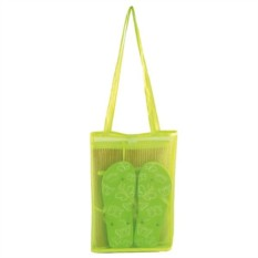 Пляжный набор: циновка и шлепанцы в сумке