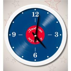 Часы «Пластинка»