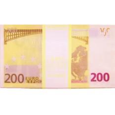 Забавная пачка купюр 200 Евро