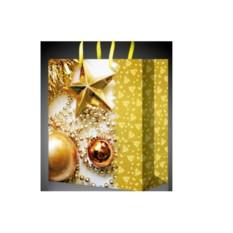 Стильный новогодний пакет