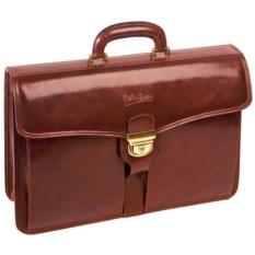 Кожаный портфель Имперский Giulio Barca