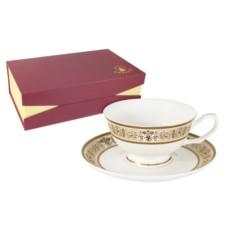 Чайный набор Шарлотта из 6 чашек и 6 блюдец