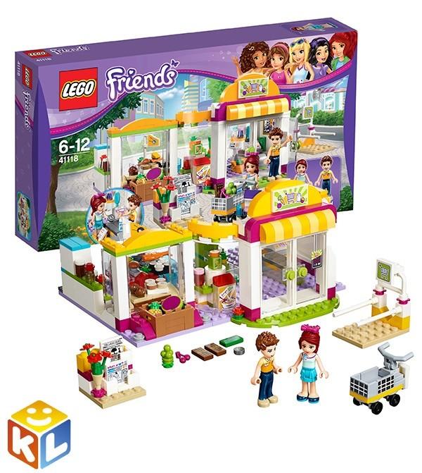 Конструктор Лего подружки Супермаркет