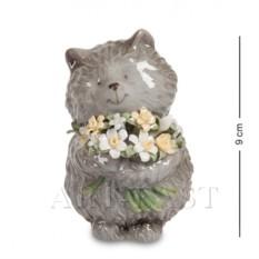 Фигурка Кот с букетом (Pavone)