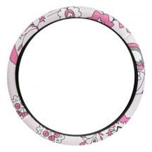 Оплетка на руль «Розовый цветок»