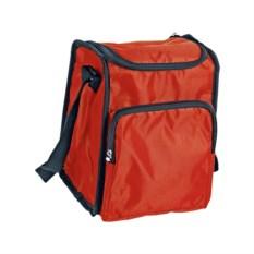 Красная сумка-холодильник на молнии на 3,5 литра