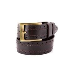 Темно-коричневый мужской кожаный ремень G.Ferretti тип B0038