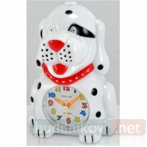 Детский кварцевый будильник Тик-Так с подсветкой