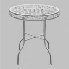 Кованый стол из коллекции Белый ажур
