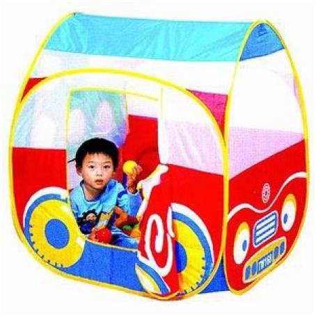 Дом «Автомобиль» + 100 шаров, Calida