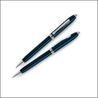 Шариковая ручка Cross Townsend, цвет quartz blue