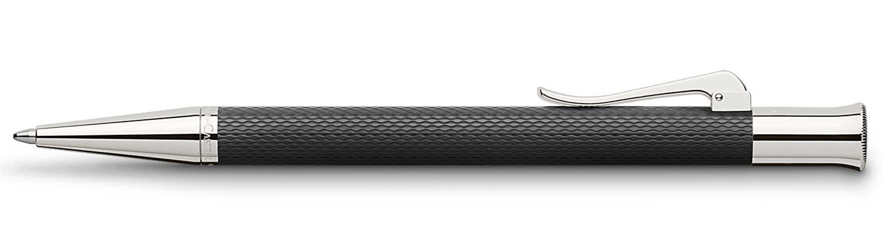 Шариковая ручка Graf von Faber-Castell Guilloche Black
