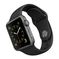 Темно-серые часы Аpple Watch Series-1 Black Sport Band