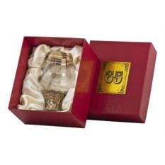 Бокал для бренди 65 лет в картонном футляре