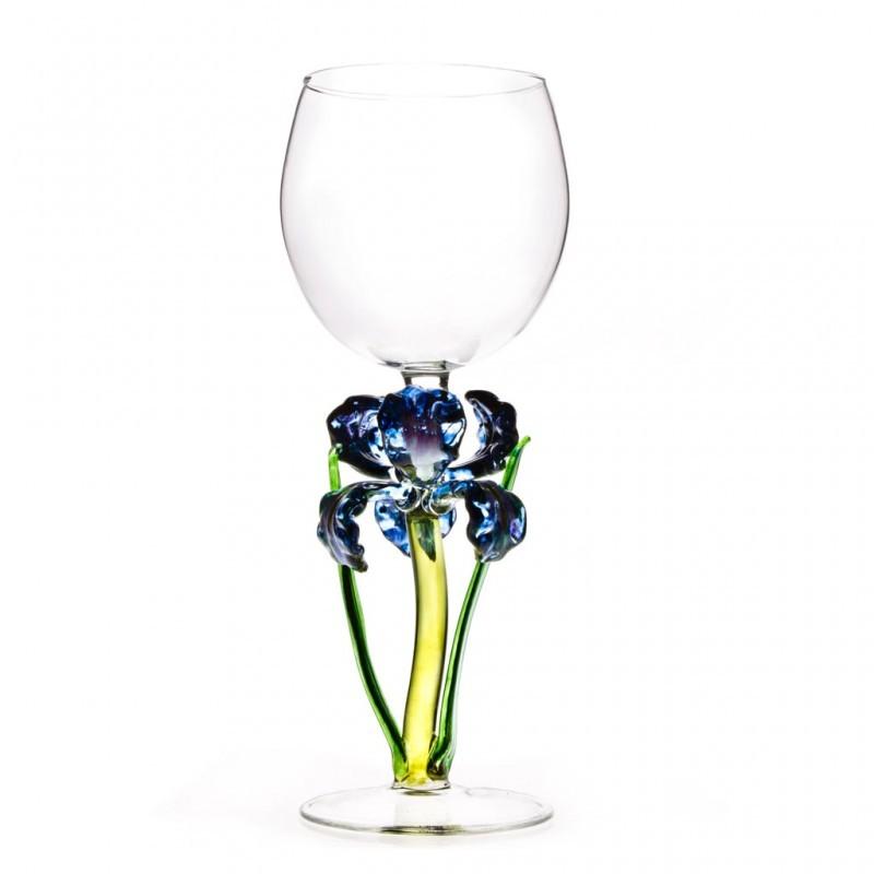 Бокал для вина Фиолетовый ирис