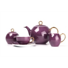 Набор чайных пар на 6 персон RAINBOW OR MONALISA
