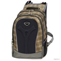Черно-бежевый рюкзак Polar School