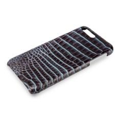 Сине-черный чехол из крокодиловой кожи на Iphone 7/8 plus