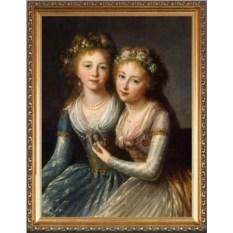 Портрет для близняшек в подарок