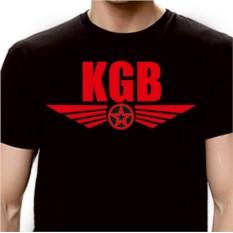Футболка с надписью KGB
