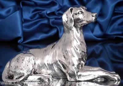 Статуэтка Собака левретка