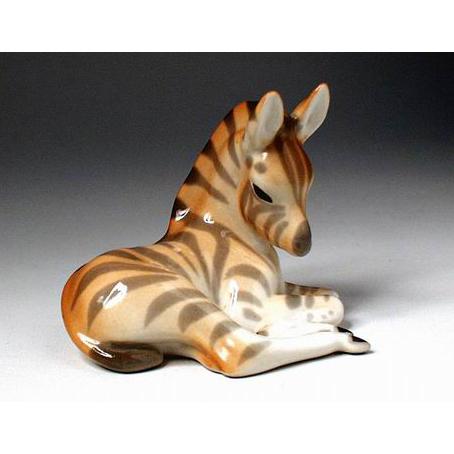 Анималистическая скульптура «Зебрёнок»