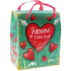 Подаолчная коробка-сундучок Любви и счастья