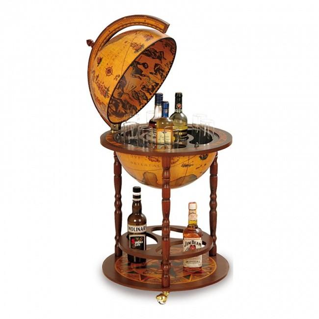 Глобус-бар Zoffoli, с подставкой для бутылок, d=40 см